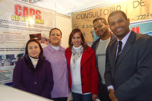 Prefeitura em Ação: Vereador Armando com a equipe dos Centro de Atenção Psicossocial (Caps).