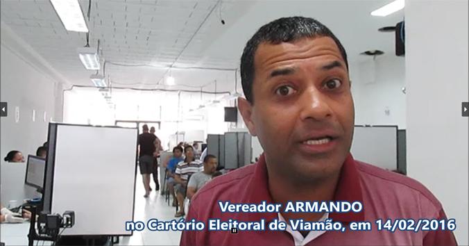 Vereador Armando_cadastro biometrico Viamao_web