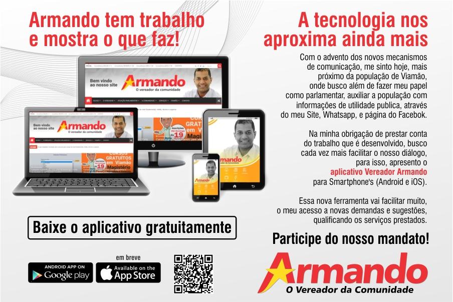 aplicativo vereador Armando