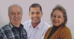 Noeli Rios, do Clube de Mães Itapuã, e o Sr. Carlinhos, do Esporte Clube Itapuã, apóiam o vereador Armando - 13123